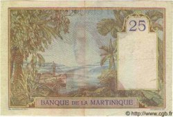 25 Francs MARTINIQUE  1945 P.12 TTB