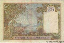 25 Francs MARTINIQUE  1945 P.12 TTB