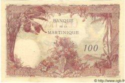 100 Francs MARTINIQUE  1945 P.13 TTB