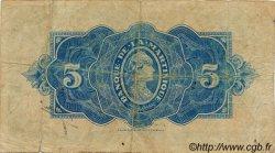 5 Francs Type 1942 MARTINIQUE  1942 P.16b TB