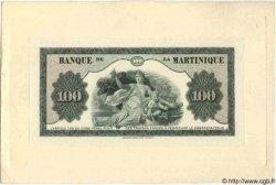 100 Francs type 1942 MARTINIQUE  1942 P.19 pr.NEUF