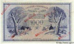 1000 Francs Phénix MARTINIQUE  1944 P.22b pr.NEUF