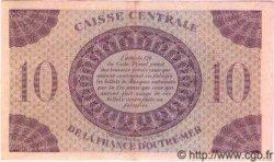 10 Francs type 1943 MARTINIQUE  1943 P.23 TTB+