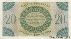 20 Francs type 1943 MARTINIQUE  1943 P.24 TB