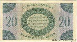 20 Francs type 1943 MARTINIQUE  1943 P.24 pr.SPL