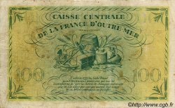 100 Francs type 1943 MARTINIQUE  1943 P.25 B+