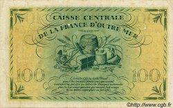 100 Francs type 1943 MARTINIQUE  1943 P.25 TTB