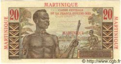20 Francs MARTINIQUE  1946 P.29 SPL