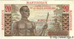 20 Francs MARTINIQUE  1946 P.29s SPL