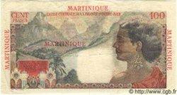 100 Francs La Bourdonnais MARTINIQUE  1946 P.31 TTB+