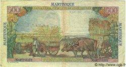 500 Francs Pointe à Pitre MARTINIQUE  1949 P.32 TTB