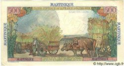 "500 Francs ""pointe-a-pitre"" MARTINIQUE  1949 P.32s SUP+"