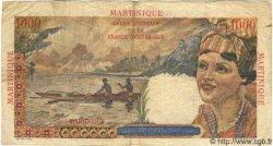 1000 Francs Union Française MARTINIQUE  1946 P.33 TB+