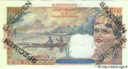 1000 Francs Union Française MARTINIQUE  1946 P.33s NEUF