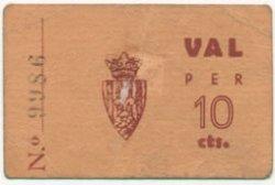 10 Centims ESPAGNE  1936 C.004d TTB