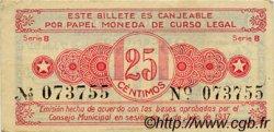 25 Centimos ESPAGNE Alcoy 1937 E.056a SUP