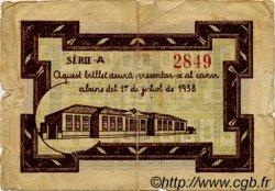 1 Pesseta ESPAGNE Ametlla De Mar 1937 C.040 B+ à TB