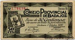50 Centimos ESPAGNE  1937 E.118 TTB+