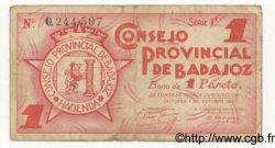 1 Peseta ESPAGNE  1937 E.118 TB