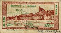 50 Centims ESPAGNE Balaguer 1937 C.070a pr.TB