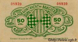 50 Centims ESPAGNE  1937 C.070a SUP