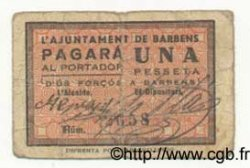 1 Pesseta ESPAGNE  1936 C.075 B à TB