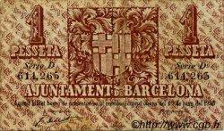 1 Pesseta ESPAGNE  1937 C.78.1 TTB