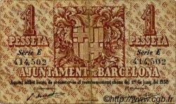 1 Pesseta ESPAGNE  1937 C.78.1 TB à TTB
