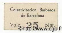 25 Centims ESPAGNE  1936 C.78.20 SPL