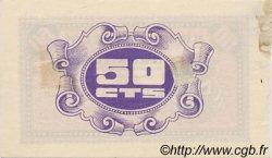 50 Centimos ESPAGNE Caspe 1937 E.254 TTB+