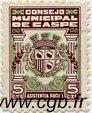 5 Centimos ESPAGNE Caspe 1937 E.--(cf.254) TTB+