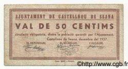 50 Centims ESPAGNE  1937 C.179a TB+ à TTB