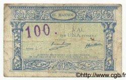 1 Pesseta ESPAGNE El Masnou 1937 C.346 TB