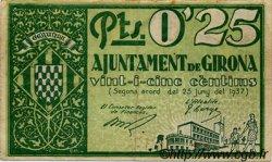 0,25 Pesseta ESPAGNE  1937 C.265a TTB