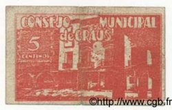 5 Centimos ESPAGNE  1937 E.--(cf.394) pr.TB