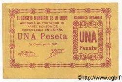 1 Peseta ESPAGNE  1937 E.755a TTB