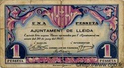 1 Pesseta ESPAGNE  1937 C.318 pr.TB