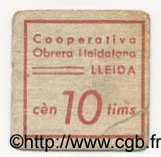 10 Centims ESPAGNE  1936 C.--(318) TB à TTB