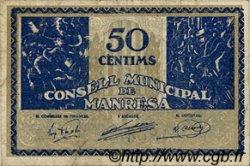 50 Centims ESPAGNE  1937 C.337 TB+ à TTB