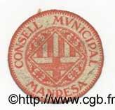 10 Centims ESPAGNE Manresa 1937 C.337a TTB