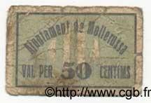 50 Centims ESPAGNE Mollerussa 1936 C.360 B