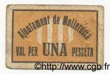 1 Pesseta ESPAGNE  1936 C.360 TB à TTB