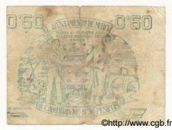 50 Centimos ESPAGNE  1937 E.522 pr.TB