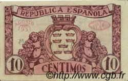 10 Centimos ESPAGNE Murcia 1937 E.522a pr.NEUF