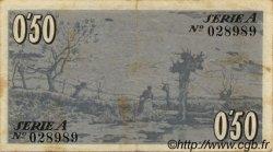 50 Centims ESPAGNE  1937 C.400a TTB