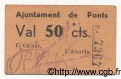 50 Centims ESPAGNE  1936 C.468 TTB+