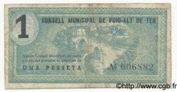1 Pesseta ESPAGNE  1937 C.486a TB