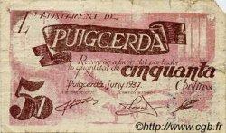 50 Centims ESPAGNE  1937 C.487 TB