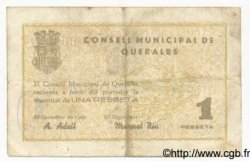 1 Pesseta ESPAGNE  1937 C.492 TB+