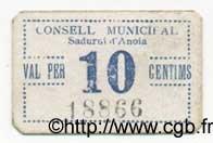 10 Centims ESPAGNE  1936 C.537c TTB